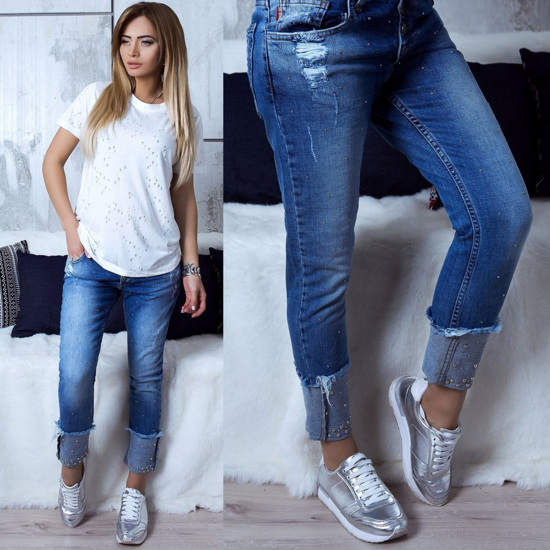 Как сделать подвороты на джинсах фото