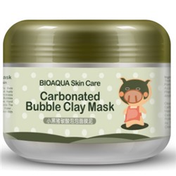 Кислородная маска для лица Bioaqua Carbonated Bubble Clay Mask  100 гр.
