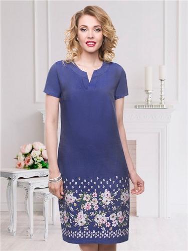e4b1f5cff35 Платье с очаровательными элементами по низу подола названо в честь (Галины  Колесовой). Принт создает невероятный эффект образу. V-образный вырез  горловины ...