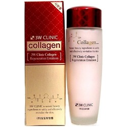 [3W CLINIC] ЛИФТИНГ Эмульсия д/лица с коллагеном регенерир. Collagen Regeneration Emulsion, 150 мл