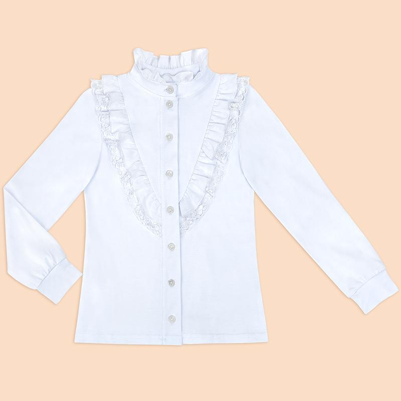 Купить Белую Блузку Для Девочки 7 Лет